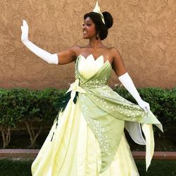 Princess Tiana for Hire