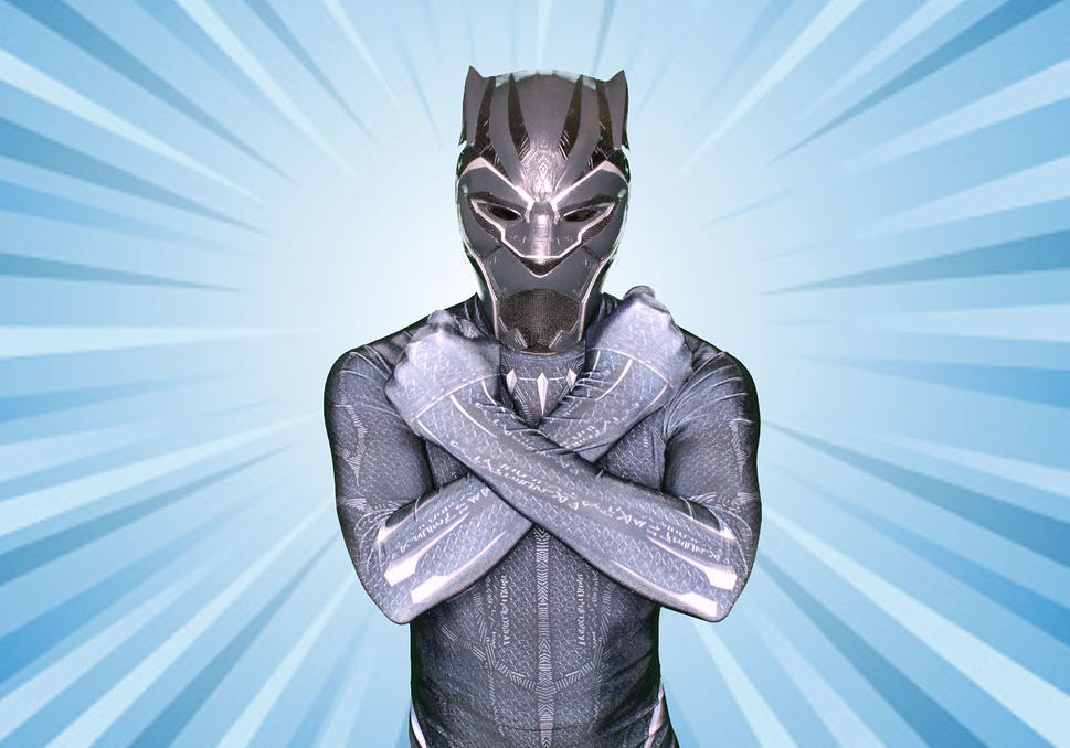 Black Panther birthday character