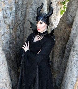 Maleficent character for hire