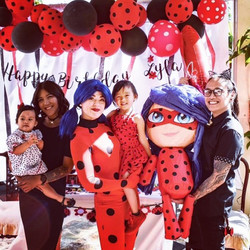 Miraculous ladybug birthday party character