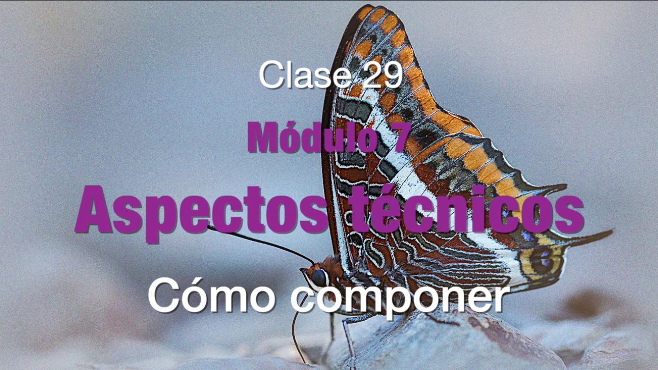 Clase 29 Composición