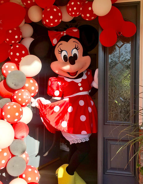 Red Miss Mouse