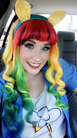 Rainbow Dash Party Character for Kid