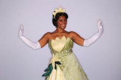 Tiana Party Character