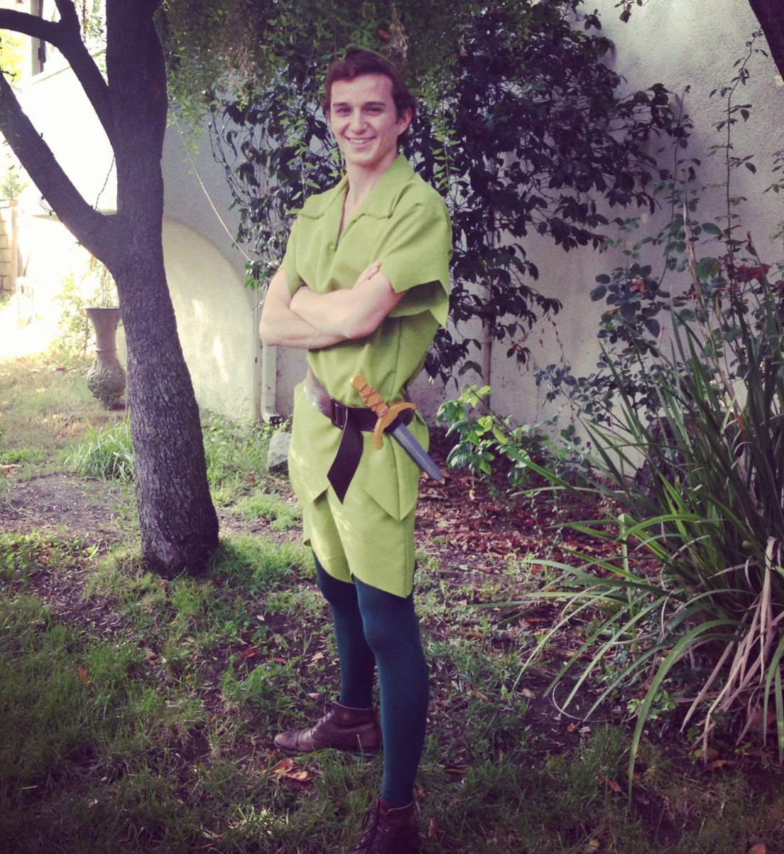 Peter Pan Party Character