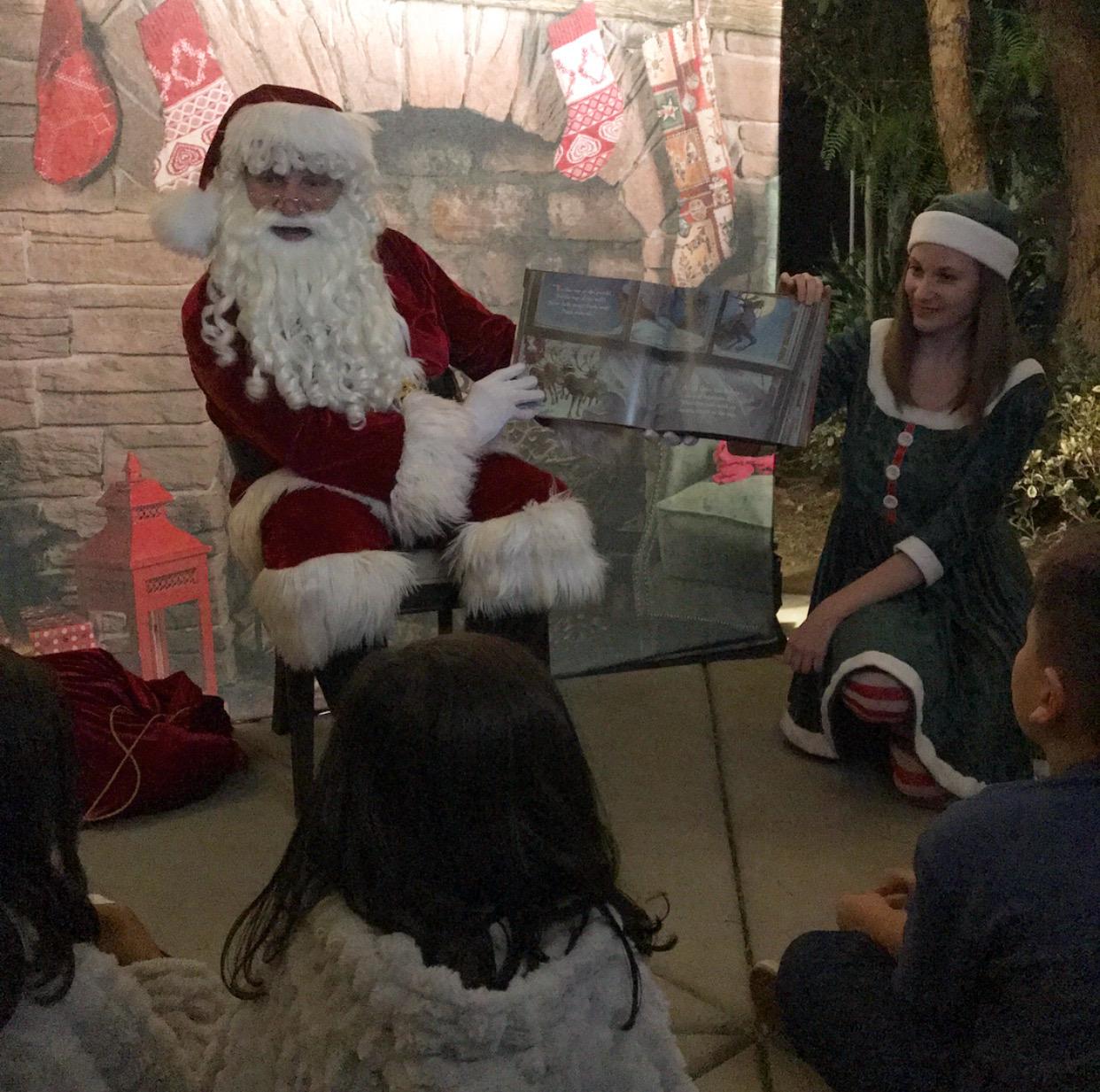 Santa Claus Storytelling