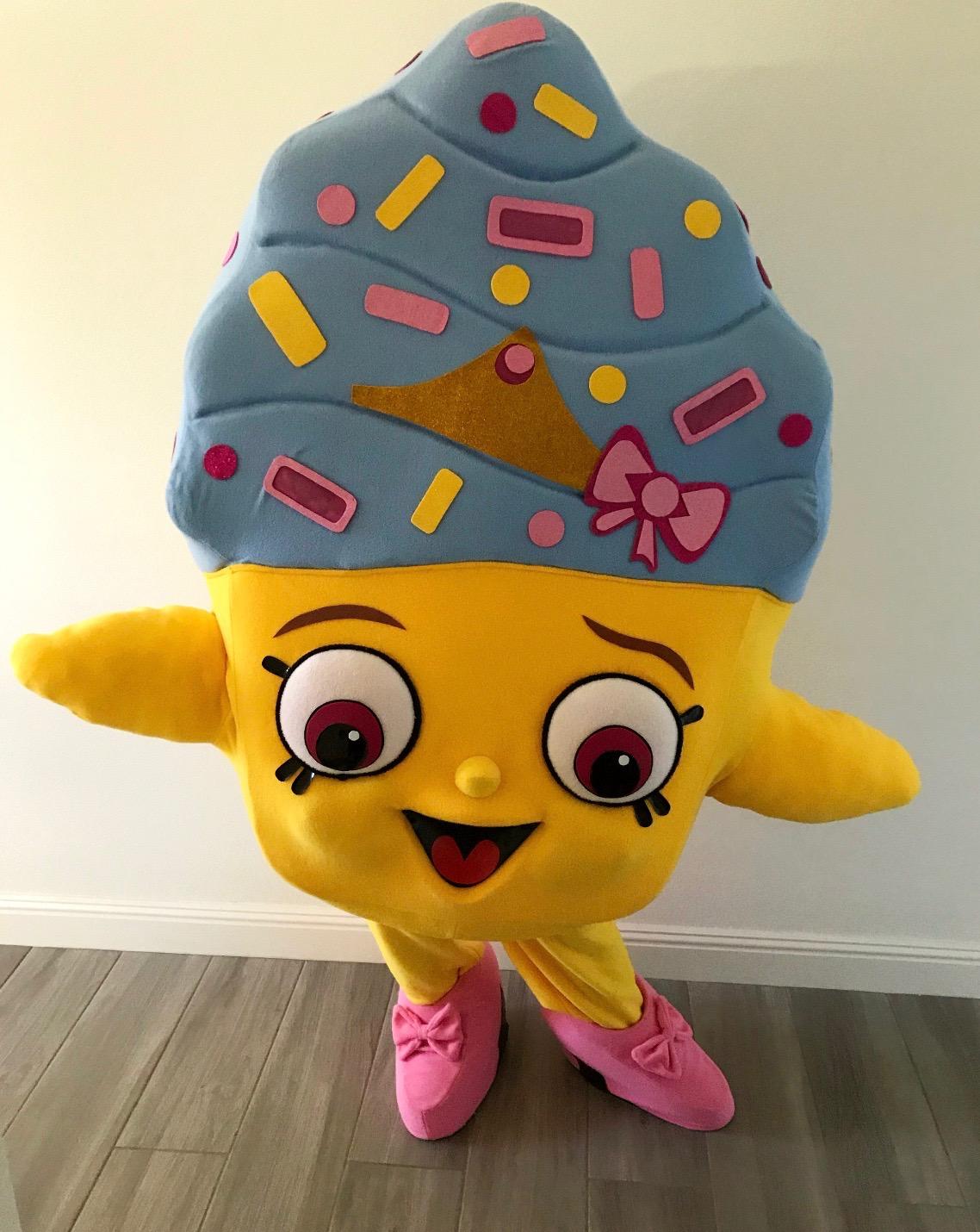 Cupcake Queen Shopkins Mascot