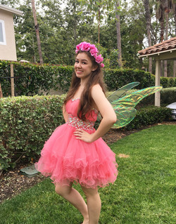 Pink Fairy for birthday party