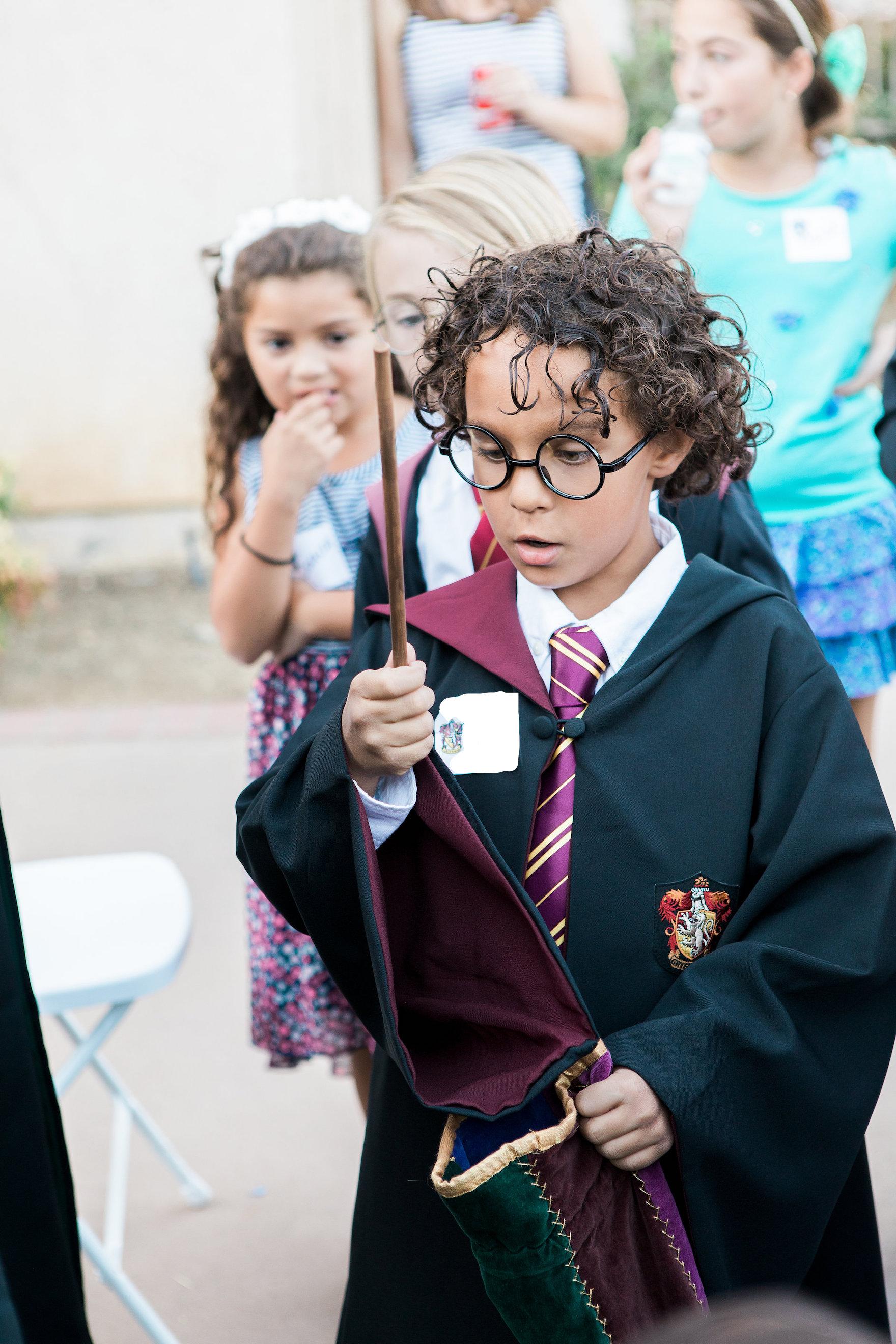 Hogwarts Wand Selection Harry Potter Birthday Party LA