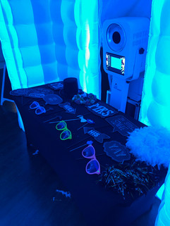 Props_inside_LED_inflatable_photo_booth