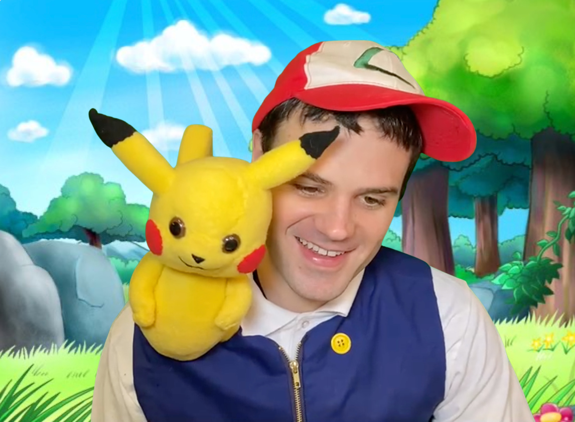 Ash and Pikachu character for hire