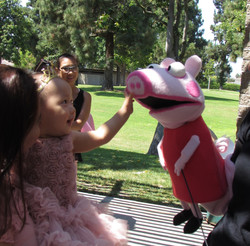 Peppa Pig Birthday Party Character