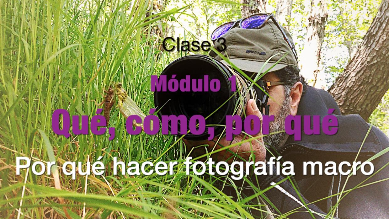 Clase 3 Por que hacer fotografia macro