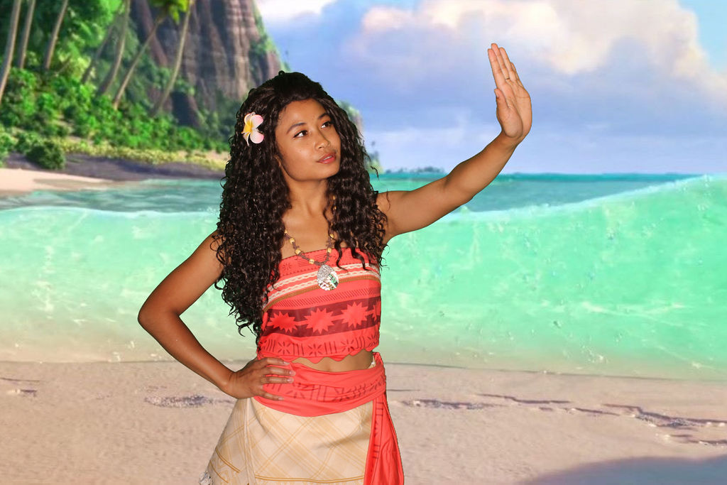 Moana character for hire Los angeles