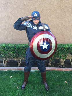 Captain America Party Character