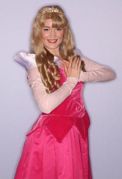 Princess Aurora Birthday Character