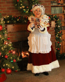 Mrs Claus Character rental