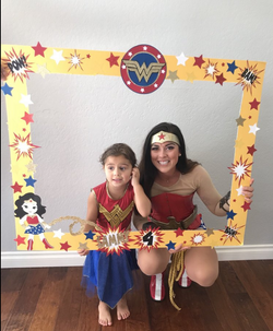 Wonder Woman Character for Kids