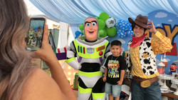 Toy Story characters for parties