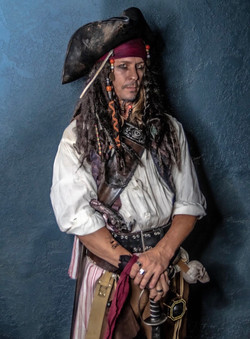 Jack sparrow birthday party character