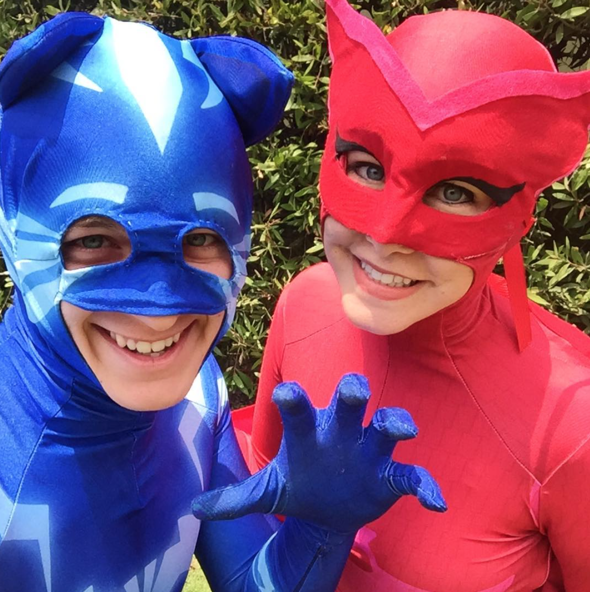 PJ Masks Birthday Party Characters