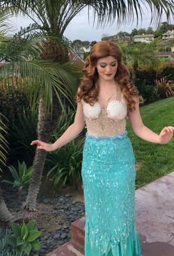 Mermaid for birthday parties