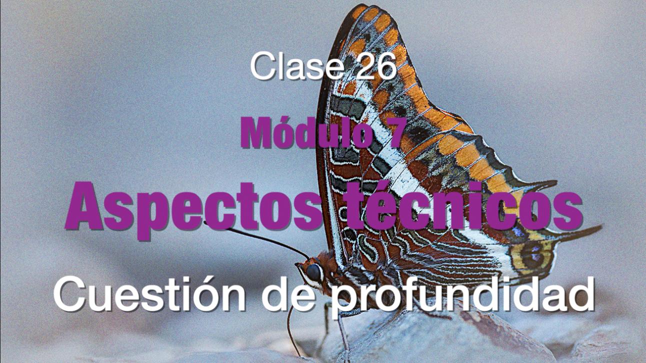 Clase 26 Profundidad de campo