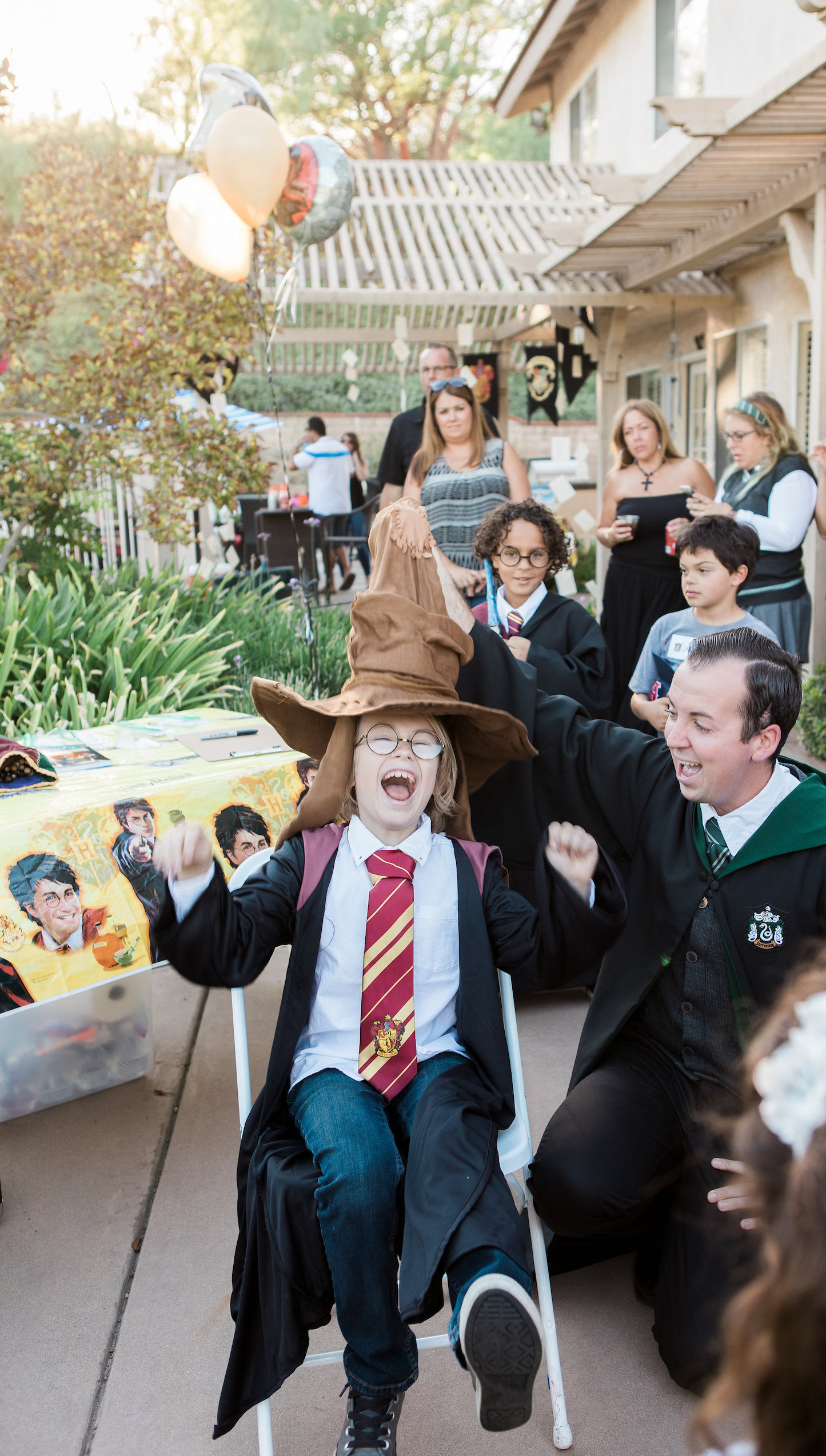 Hogwarts Sorting Ceremony