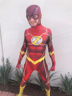 Flash Birthday Party Character