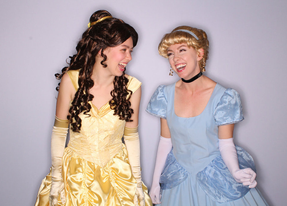Belle and Cinderella Princesses