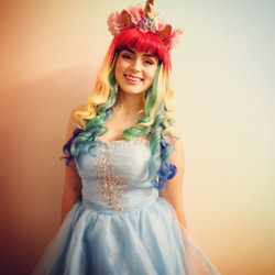 Unicorn Princess Themed Party