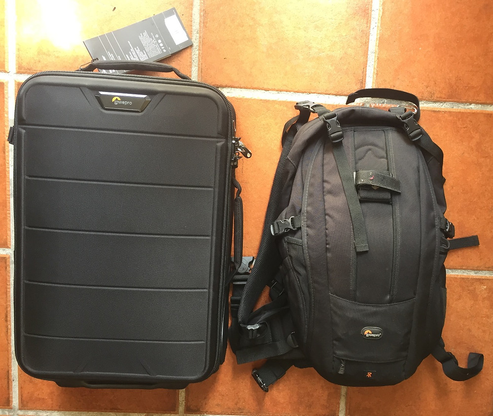 Trolley y mochila viaje Costa Rica Espartano