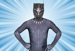 Black panther character for hire