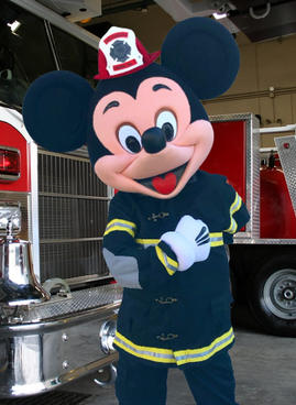 Firefighter Mr Mouse