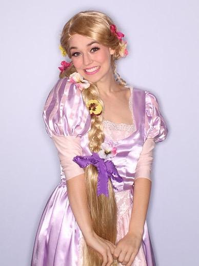 Rapunzel Theme Birthday Party