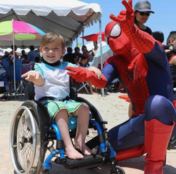 Spiderman at Special Event