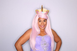 Hire a unicorn for a birthday party