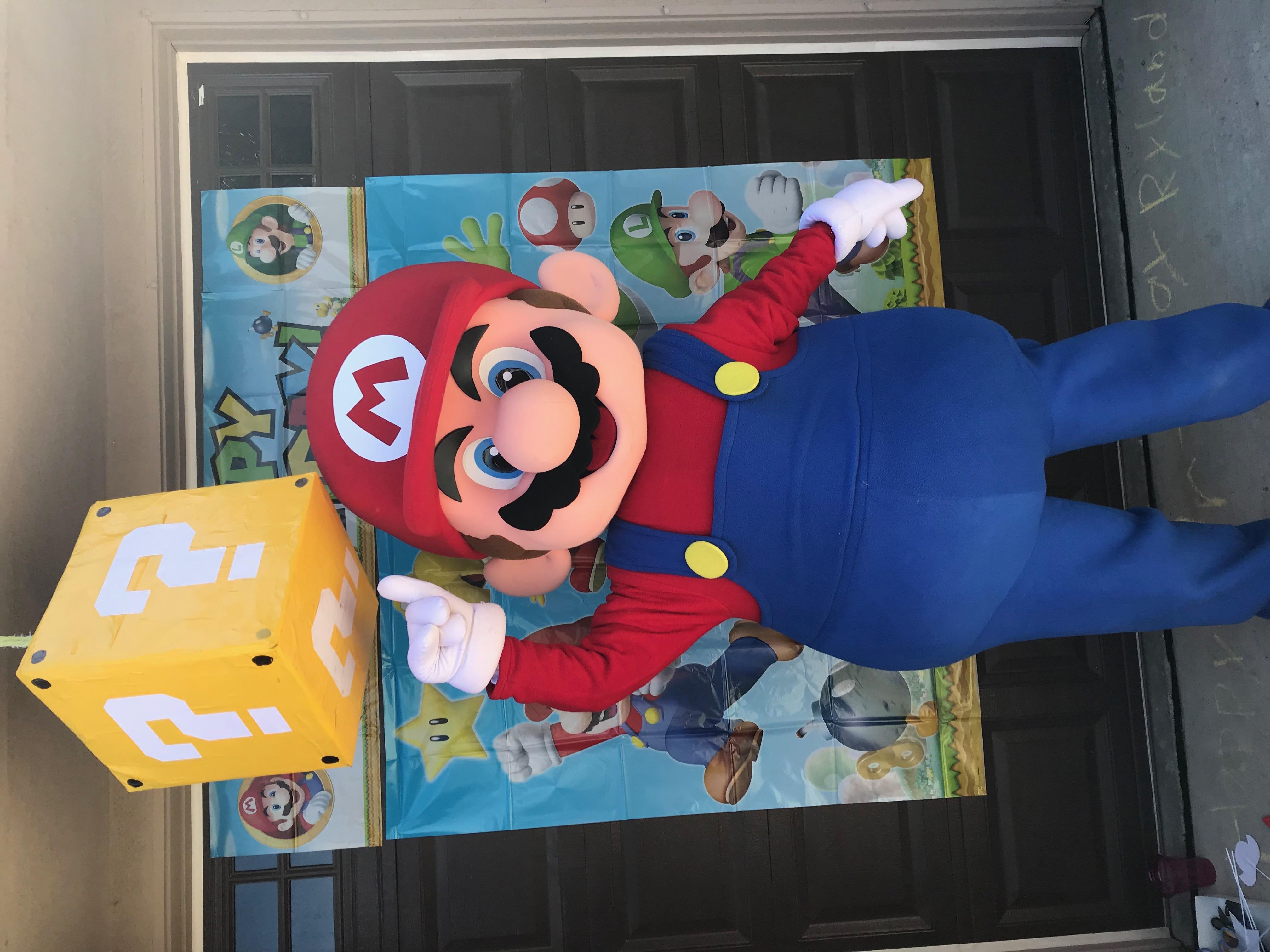 Super Mario Bros themed party