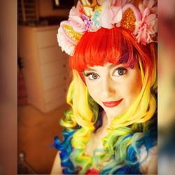Rainbow Unicorn for hire