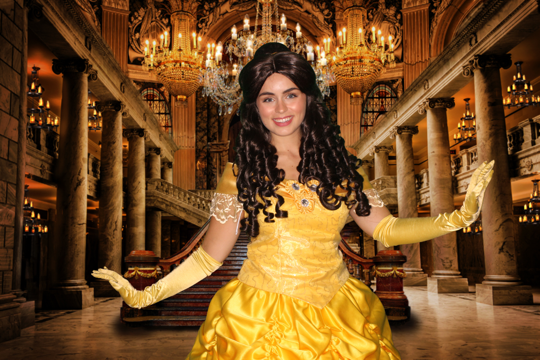 Belle Party Character