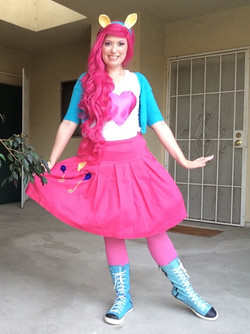 Pinkie Pie Party Character