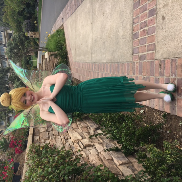 Tinker Bell Party Character