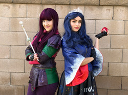 Mal and Evie for hire