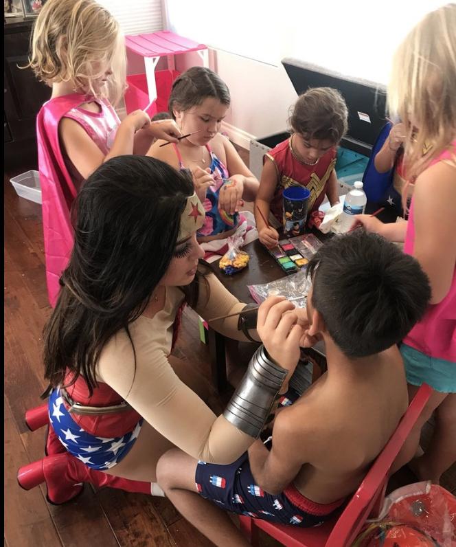 Wonder Woman Birthday Party