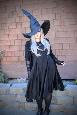 Scary Witch character for hire