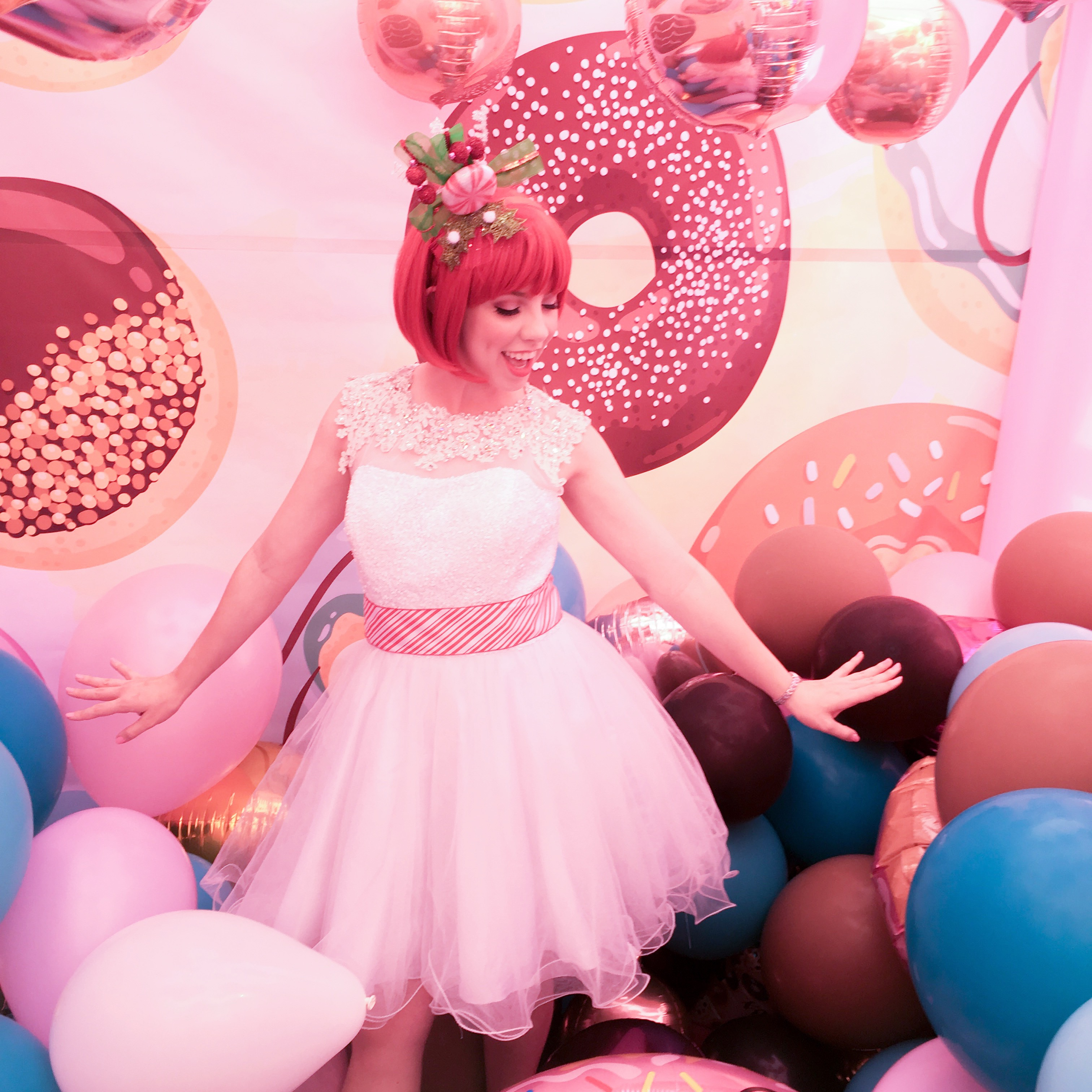 Candyland Party character for hire