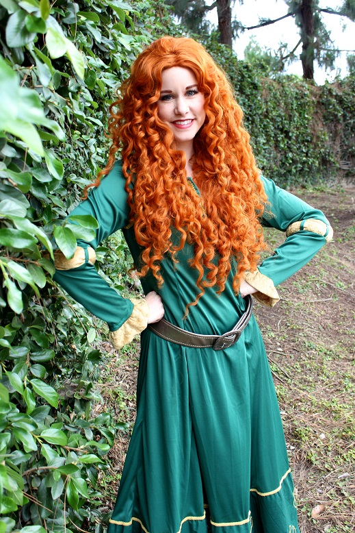 Merida Character for Kids