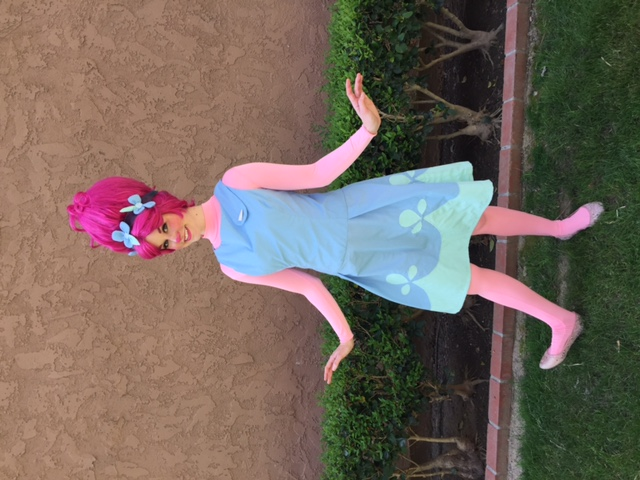 Princess Poppy Troll party character