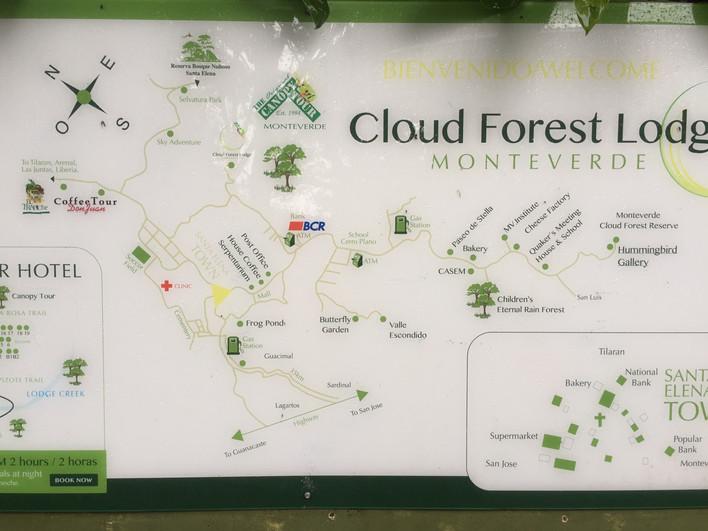 Costa Rica 1ª etapa-Monteverde (Primera parte)