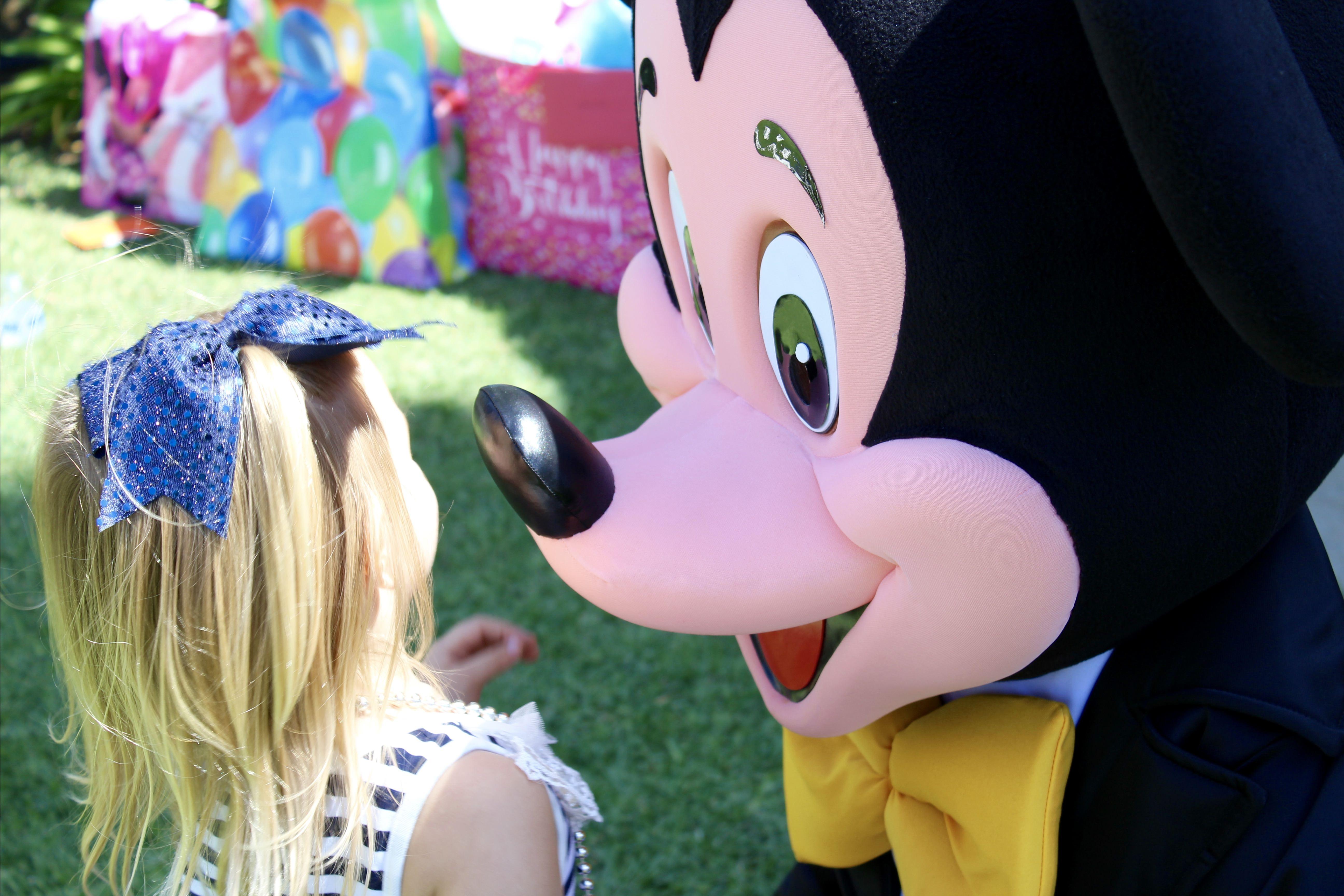 Mickey Birthday Party Character